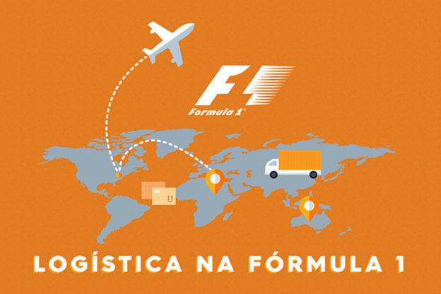 Infográfico - Logística na Formula 1