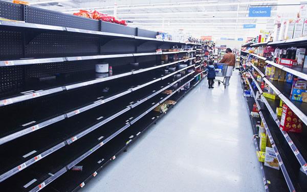 Falta de produtos em prateleiras comprometem vendas
