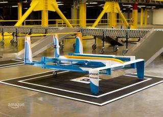 Novo drone da Amazon para entregas expressas