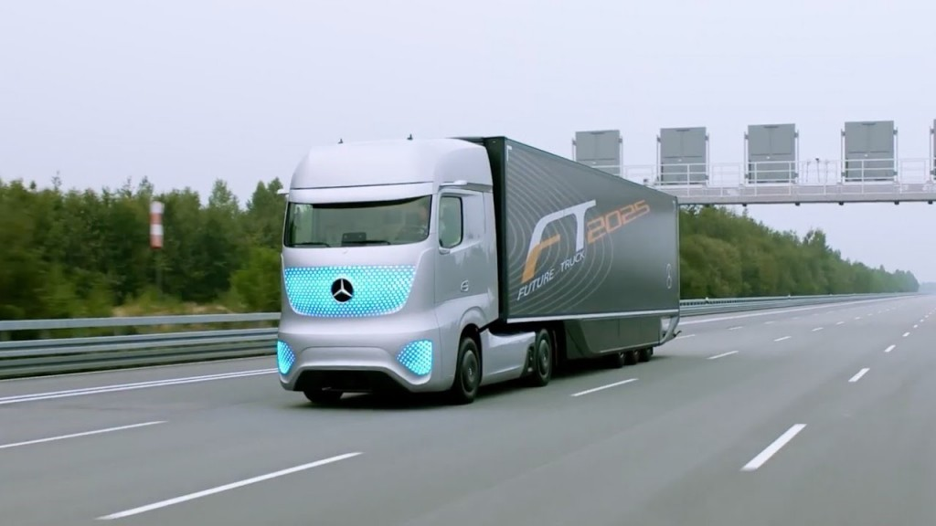 Future Truck da Mercedes-Benz