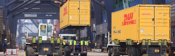 DHL lança novo serviço de transporte de carga fracionada