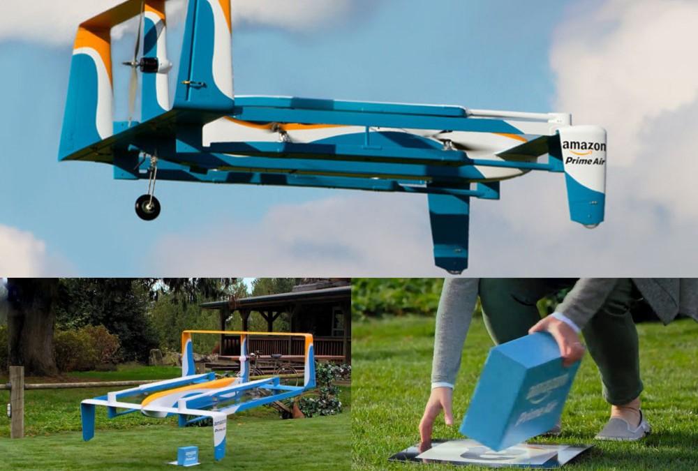 Amazon avioes e drones