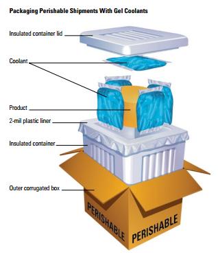 dicas para transportar produtos pereciveis frios
