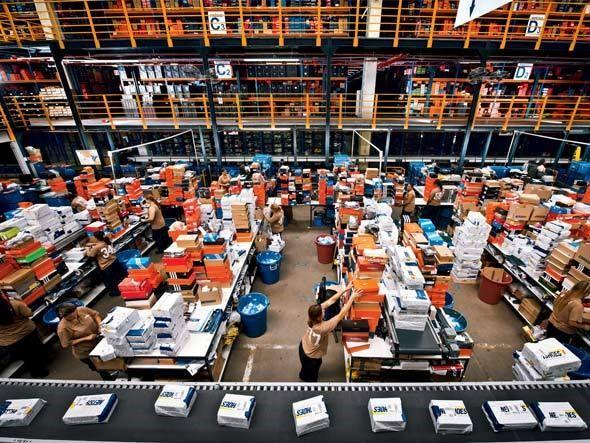 centro de distribuicao Netshoes