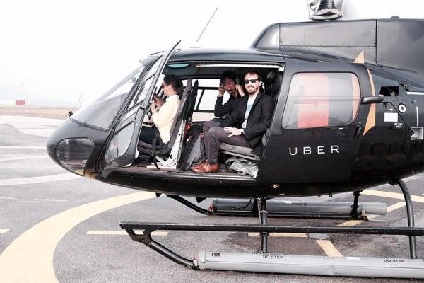 uber helicoptero